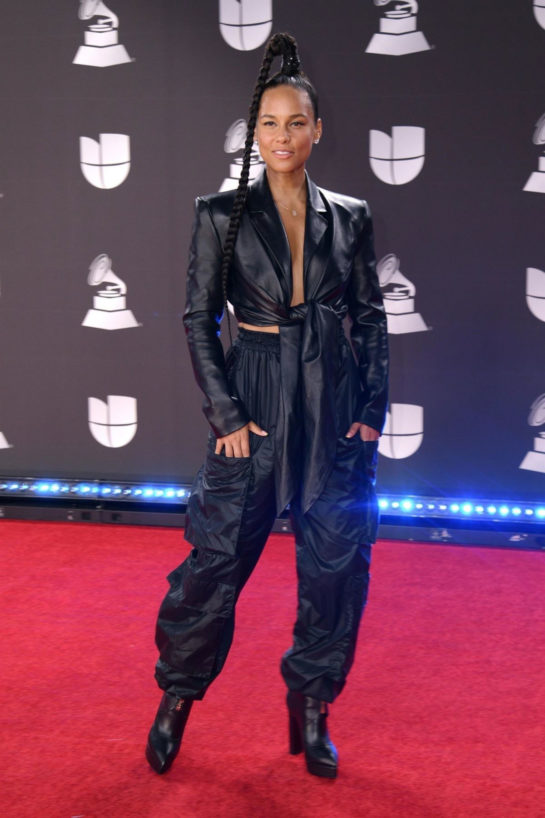 Alicia Keys at 20th Annual Latin Grammy Awards in Las Vegas