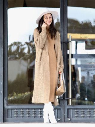 Cara Santana Shopping at the Barney's New York