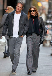Cindy Crawford and Rande Gerber Out in New York