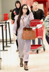 Demi Moore Shopping at Target in Los Angeles