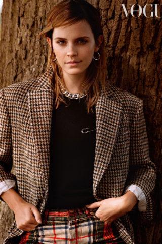 Emma Watson in Vogue Magazine, UK December 2019