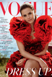 Emma Watson in Vogue Magazine, UK December 2019