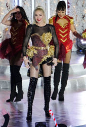 Gwen Stefani performs at Rockefeller Center Tree Lighting in New York