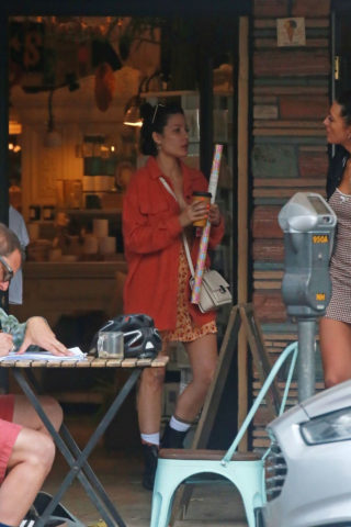 Halsey Out Shopping in Studio City