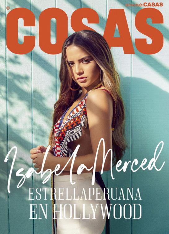 Isabela Merced in COSAS Magazine Peru December 2019