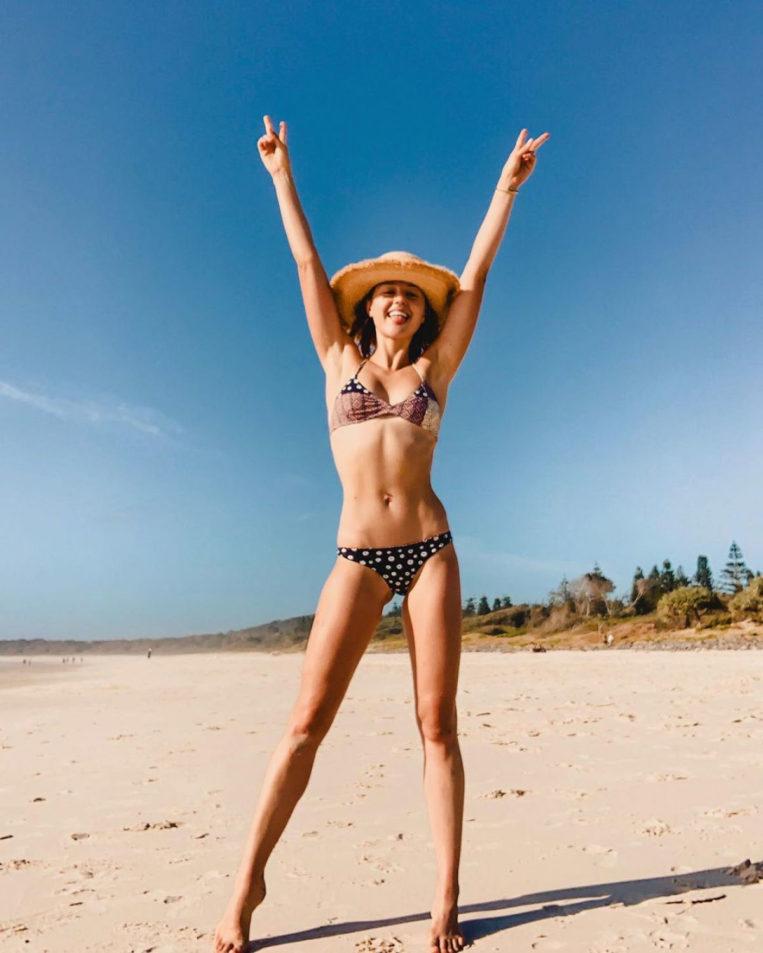 Isabelle Cornish in Bikini Instagram photos