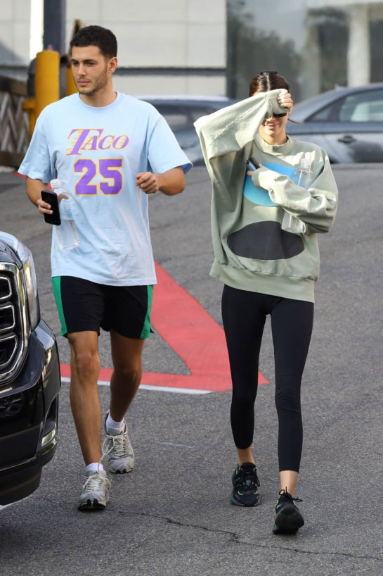 Kendall Jenner and Fai Khadra Out in Los Angeles