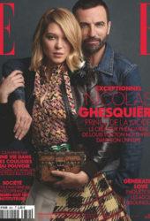 Léa Seydoux in Elle Magazine, France October 2019