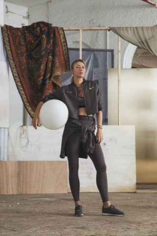 Maria Sharapova for New Nike Collection, 2019