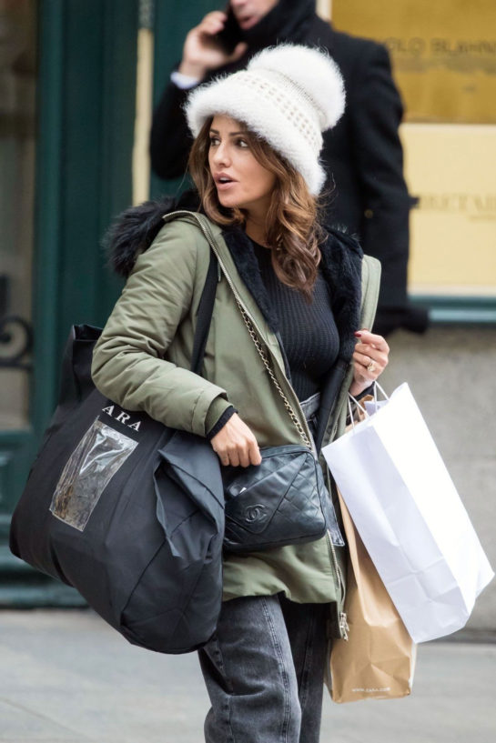 Monica Cruz Out Shopping in Madrid