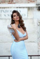 Nadine Mirada at a Photoshoot, 2019