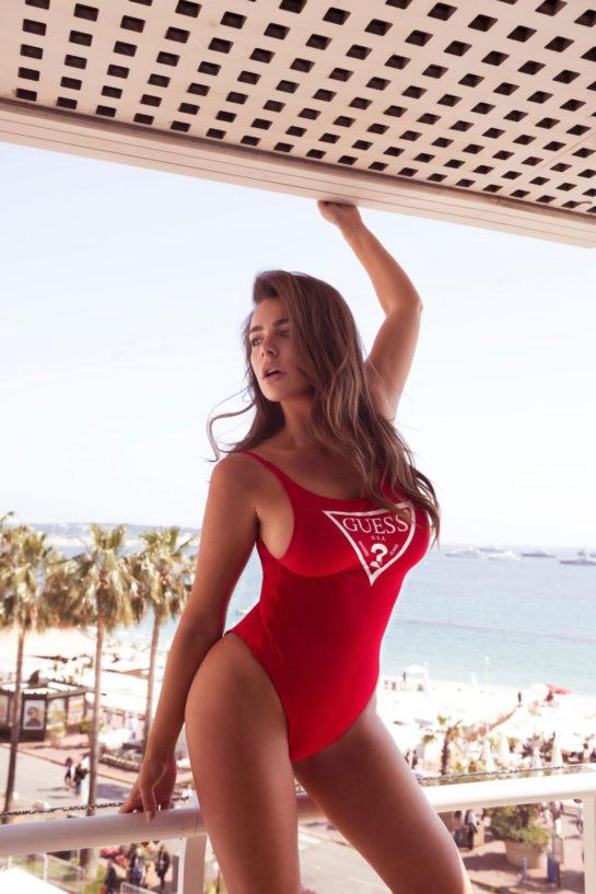 Nadine Mirada in Bikini and Swimsuits for Flaked Magazine, 2019