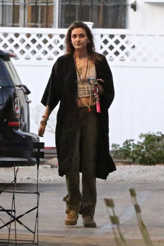 Paris Jackson at Nine Zero One in West Hollywood