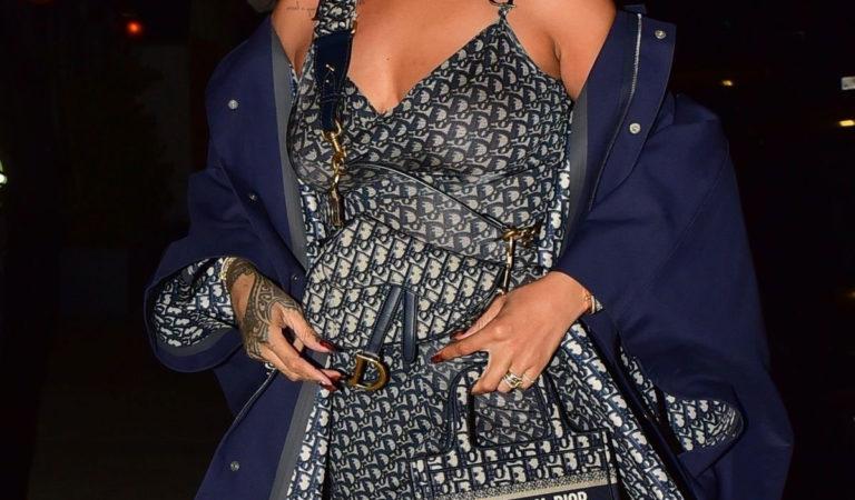 Celebrity Night Out – Rihanna at Giorgio Baldi in Santa Monica