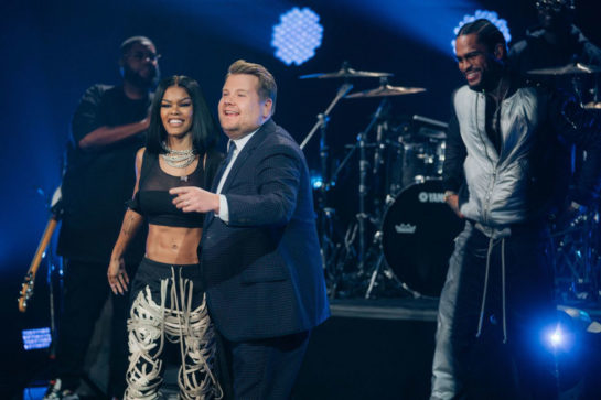 "Teyana Taylor performs at ""The Late Late Show With James Corden"""