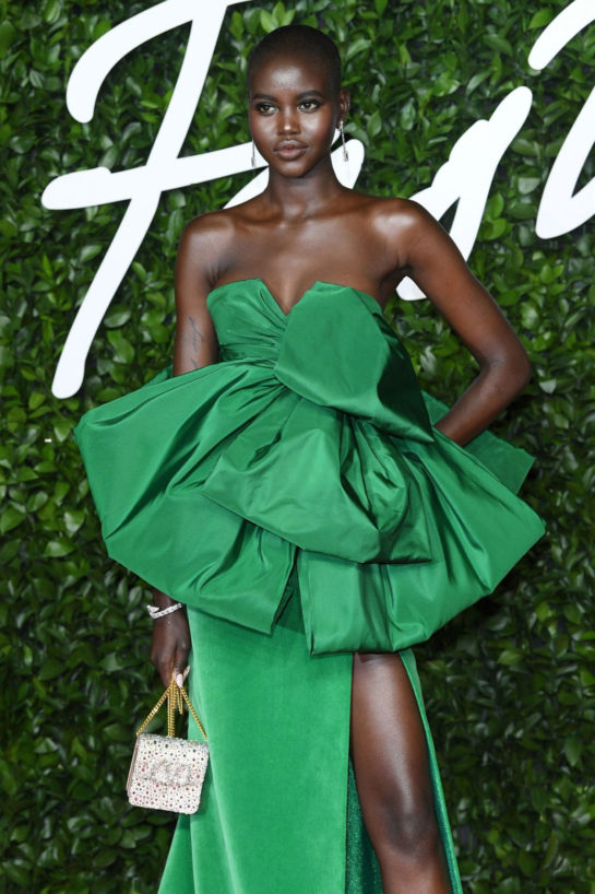 Adut Akech at Fashion Awards 2019 in London