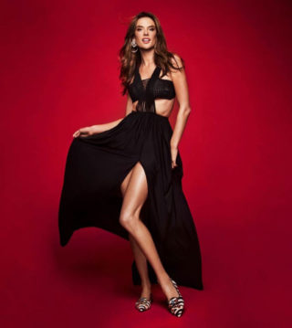 Alessandra Ambrosio for Pretty Ballerinas 2019 Campaign