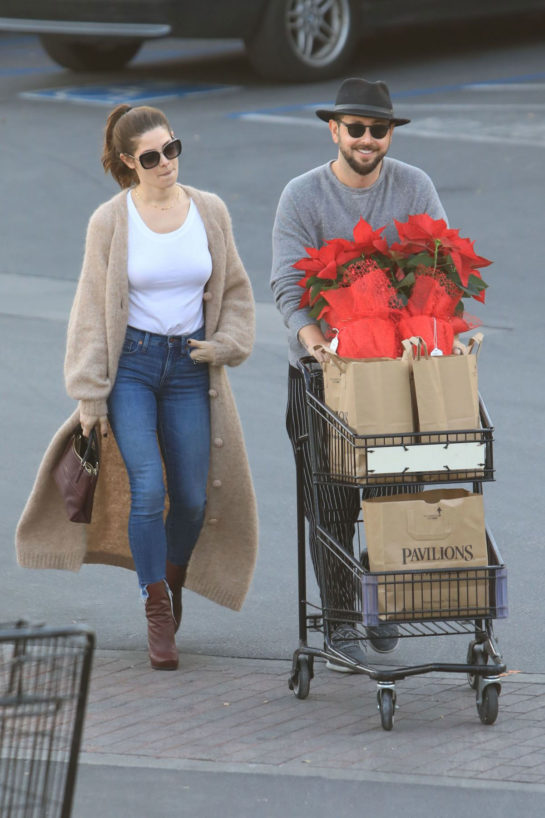 Ashley Greene and Paul Khoury Shopping in West Hollywood