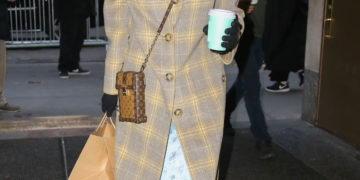 Ashley Tisdale Out in New York City