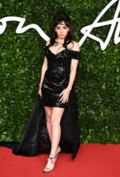 Charli XCX at Fashion Awards 2019 in London
