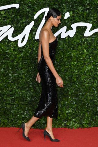 Ella Balinska at Fashion Awards 2019 in London
