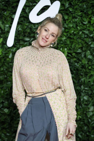 Ellie Goulding at Fashion Awards 2019 in London