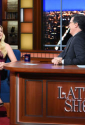 Florence Pugh at Late Show with Stephen Colbert