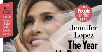 Jennifer Lopez in People Magazine, People of the Rear Issue, December 2019