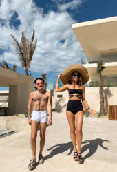 Kate Beckinsale and Jonathan Voluck in Los Cabos Instagram photos