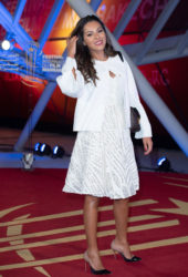 Nawel Debbouze at 18th Marrakech International Film Festival Opening Ceremony