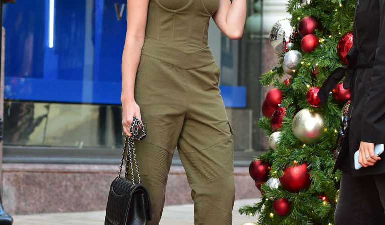 Celebrity Shopping – Olivia Culpo Shopping in Beverly Hills