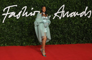 Rihanna at Fashion Awards 2019 in London