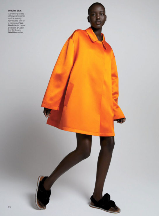 Adut Akech and Kaia Gerber in Vogue Magazine, February 2020