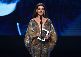 Anne Hathaway at 25th Annual Critics' Choice Awards in Santa Monica