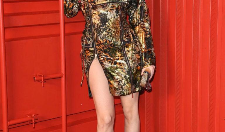 Celebrity Fashion – Barbara Palvin Dsquared2 Fashion Show in Milan