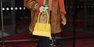 Bella Hadid She Leaves Her Hotel in Paris