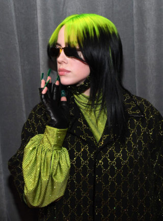 Billie Eilish at 62nd Annual Grammy Awards in Los Angeles