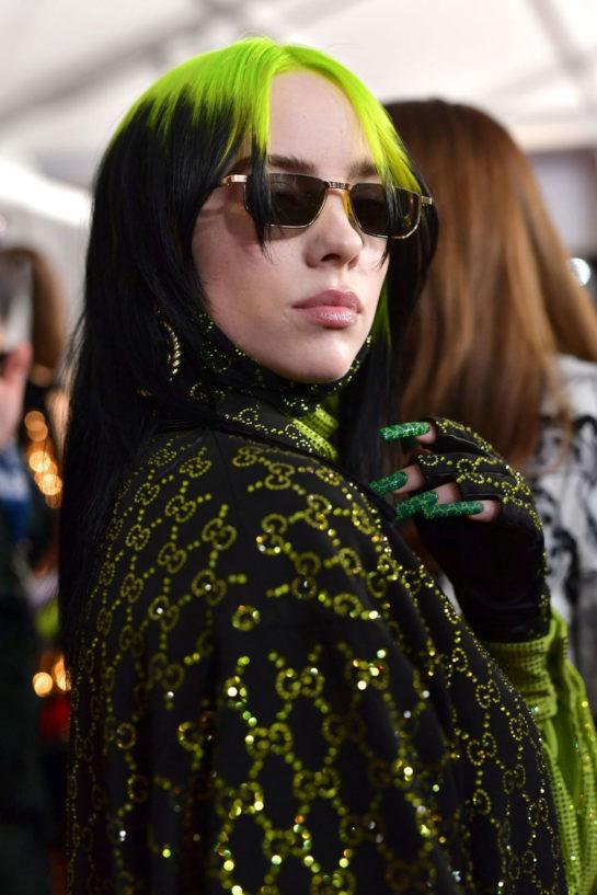 Billie Eilish at 62nd Annual Grammy Awards in Los Angeles