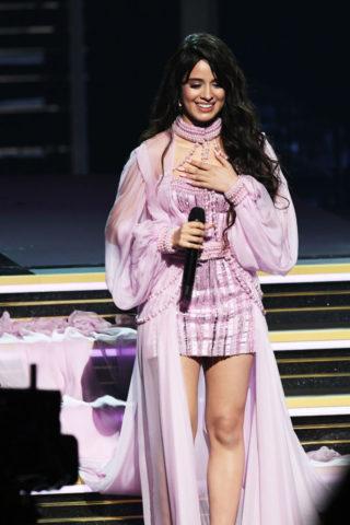 Camila Cabello Performs at 2020 Grammy Awards