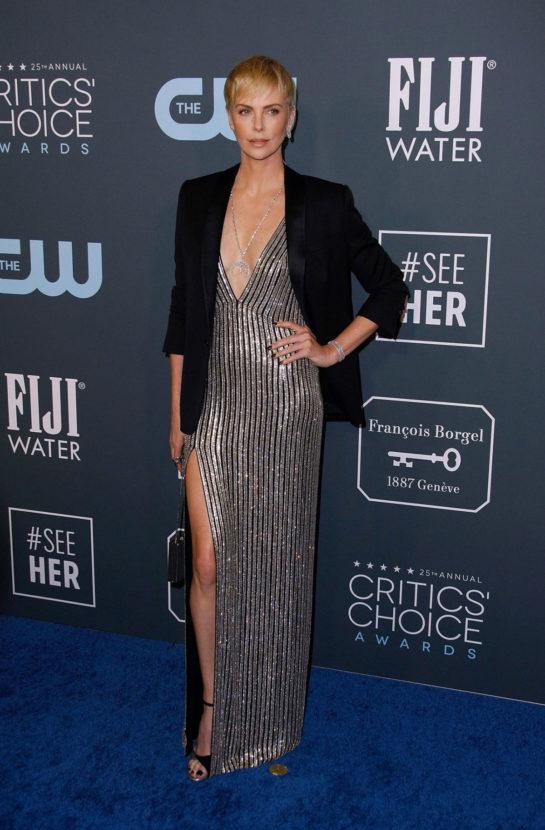 Charlize Theron at 25th Annual Critics' Choice Awards in Santa Monica