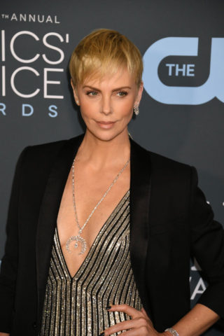 Charlize Theron at 25th Annual Critics' Choice Awards in Santa Monica