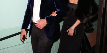Jennifer Lopez and Alex Rodriguez Out for Dinner in West Hollywood