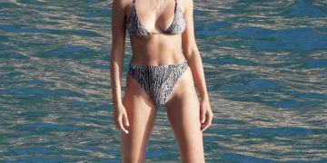 Kelly Gale in Bikini for Victoria's Secret Photoshoot