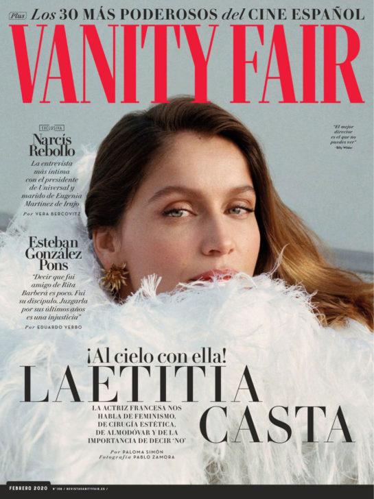Laetitia Casta in Vanity Fair Magazine, Spain February 2020