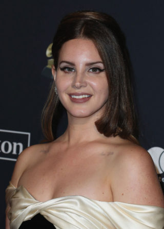 Lana Del Rey at Clive Davis' 2020 Pre-Grammy Gala in Los Angeles