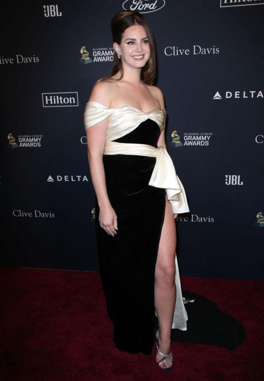 Lana Del Rey at Clive Davis' 2020 Pre-Grammy Gala in Los Angeles