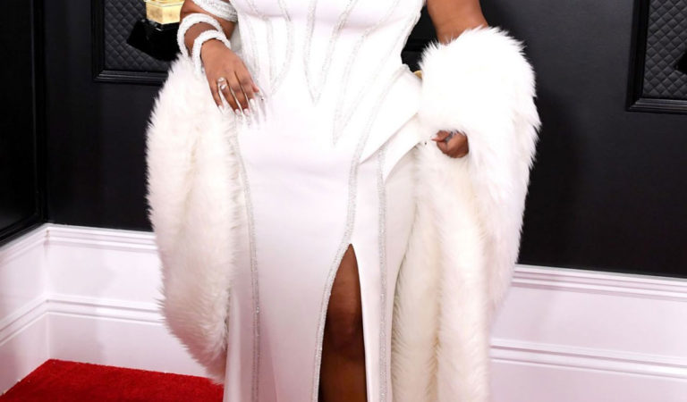 Red Carpet – Lizzo at 62nd Annual Grammy Awards in Los Angeles