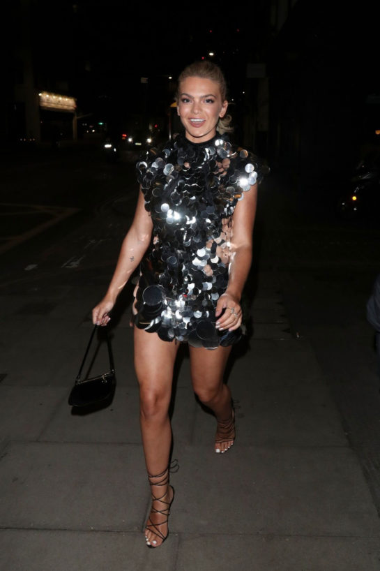 Louisa Johnson at a Birthday Party in London