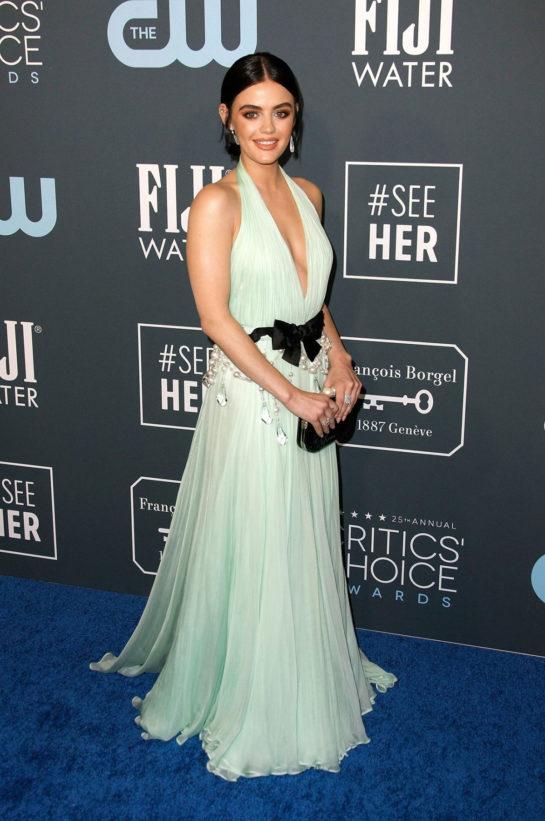 Lucy Hale at 25th Annual Critics' Choice Awards in Santa Monica