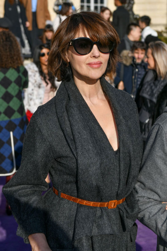 Monica Bellucci at Dior Haute Couture Spring/Summer 2020 Show at Paris Fashion